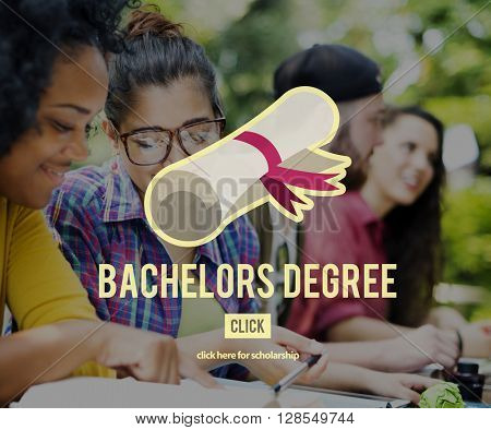 Bachelors Degree Success Graduation University Concept