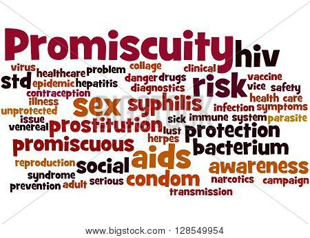 Promiscuity, Word Cloud Concept 5