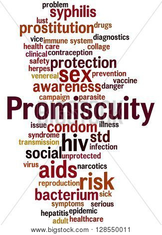 Promiscuity, Word Cloud Concept 9