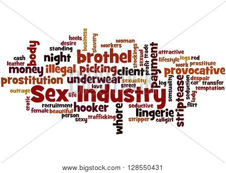 Sex Industry, Word Cloud Concept 3