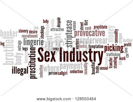 Sex Industry, Word Cloud Concept 6