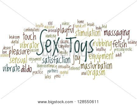 Sex Toys, Word Cloud Concept 9