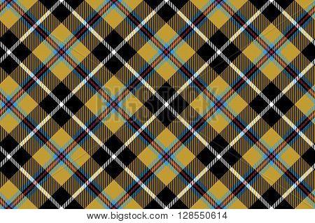 cornish tartan fabric texture seamless diagonal pattern .Vector illustration. EPS 10. No transparency. No gradients.