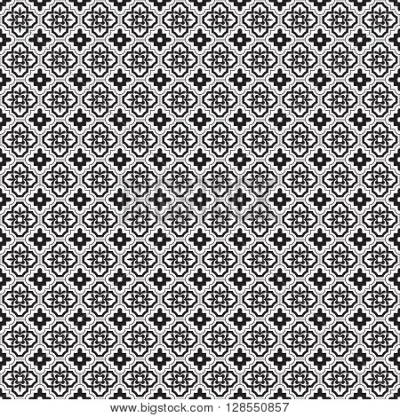 east seamless pattern.Vector illustration. EPS 10. Vintage style