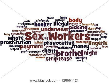Sex Workers, Word Cloud Concept 9