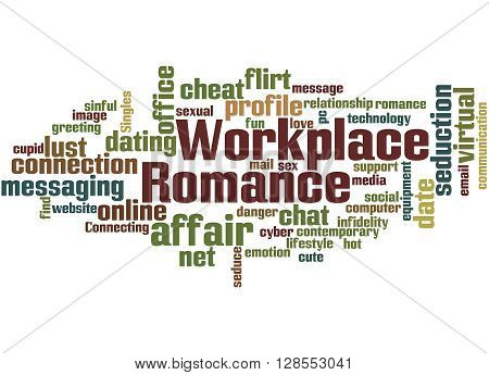Workplace Romance, Word Cloud Concept 3