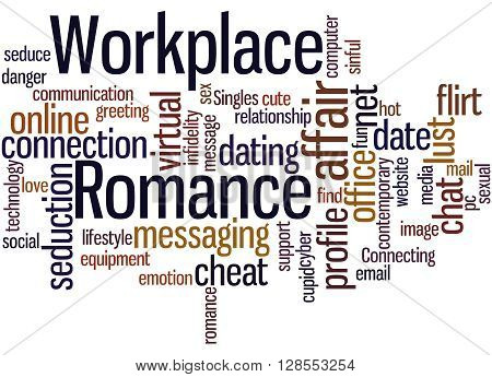 Workplace Romance, Word Cloud Concept 9