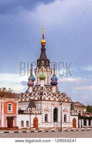 Soothe My Sorrows Church. Russian Orthodox church in Saratov