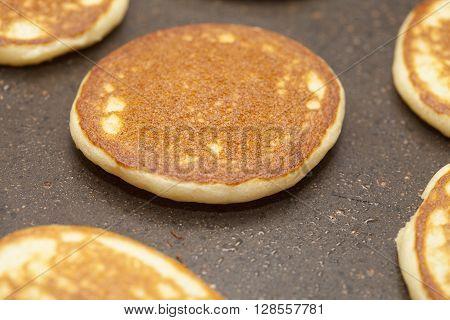 Making Thick Potato Cakes