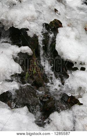 Multnomah Falls River