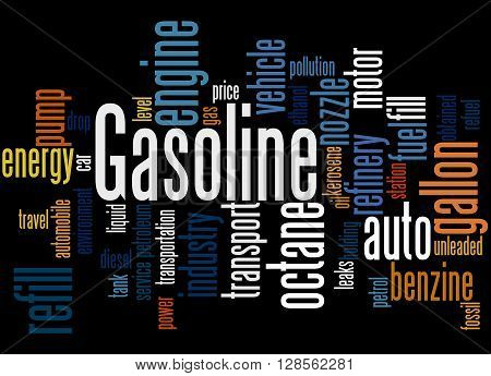 Gasoline, Word Cloud Concept 3