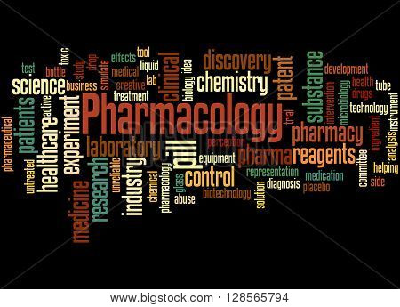 Pharmacology, Word Cloud Concept 5