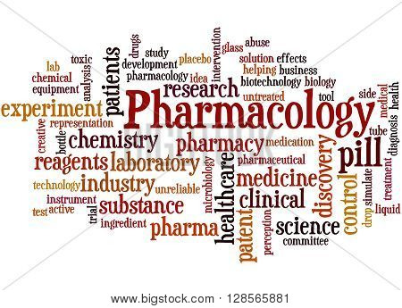 Pharmacology, Word Cloud Concept 9