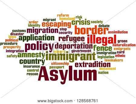 Asylum, Word Cloud Concept 2