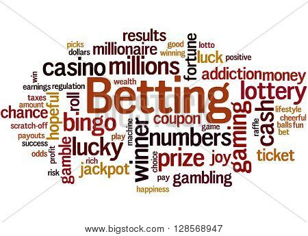 Betting, Word Cloud Concept 4