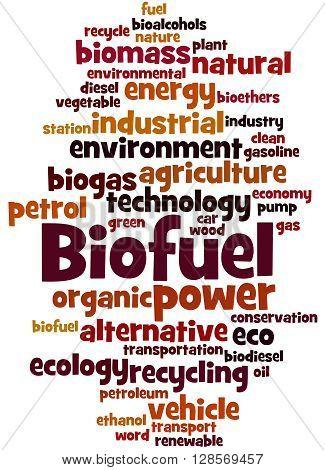 Biofuel, Word Cloud Concept 2