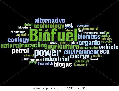 Biofuel, Word Cloud Concept 9