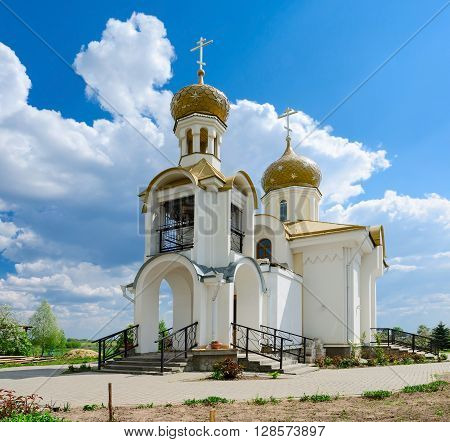 Church of St. Nicholas in the village Danilovichi of Vetka district Gomel region Belarus