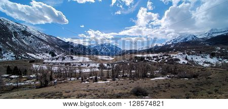Views of the Wasatch Mountains of Utah