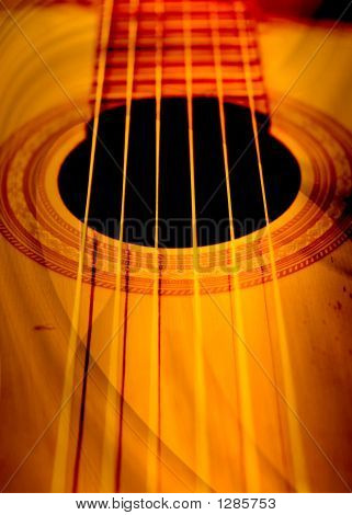 Musical Abstract Composition