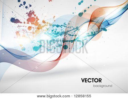Superfície colorida. Abstrato de vetor