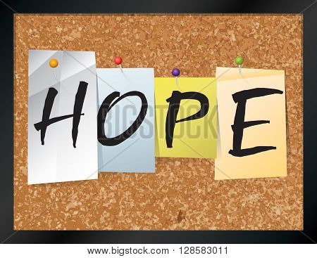 Hope Bulletin Board Theme Illustration