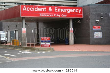 Accident And Emergency Entrance