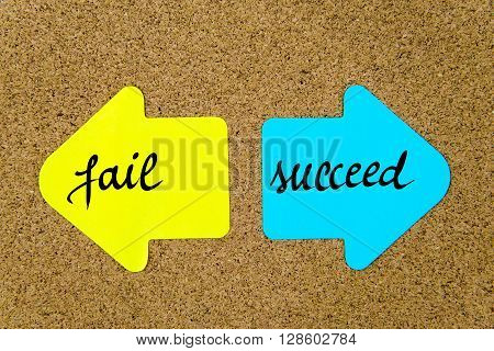 Message Fail Versus Succeed