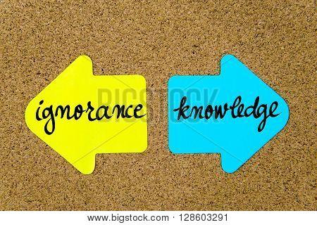 Message Ignorance Versus Knowledge