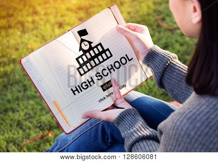High School Academic Knowledge Student Concept