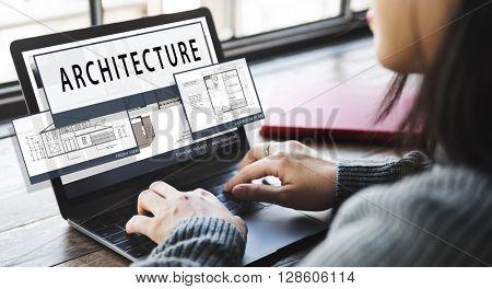 Architecture Layout Blueprint Build Contract Concept