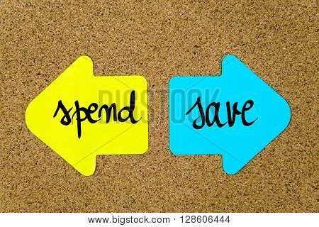 Message Spend Versus Save
