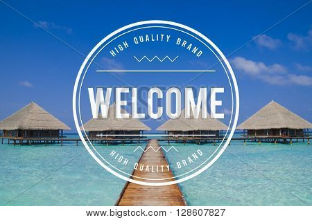 Welcome Available Greeting Launch Open Friendly Concept