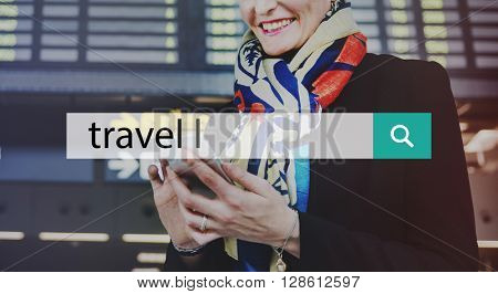 Travel Journey Tourism Trip Vacation Destination Concept