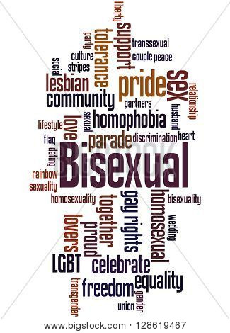 Bisexual, Word Cloud Concept 3