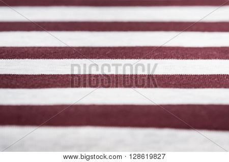 Knitted Fabric Texture And Background With Stripes Close Up