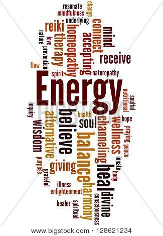 Energy, Word Cloud Concept 8