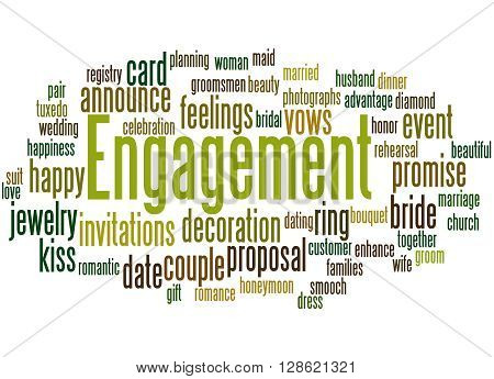 Engagement, Word Cloud Concept 4