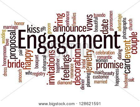 Engagement, Word Cloud Concept 9