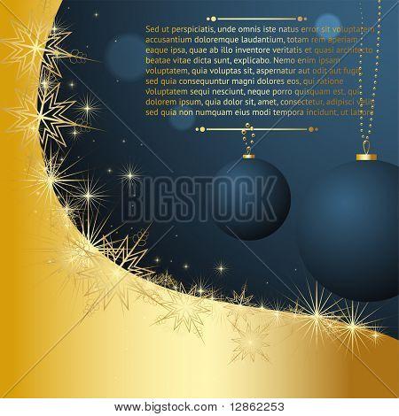 Frohe Weihnachten und Happy New Year-Vektor für Xmas-design