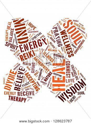 Heal Faster, Word Cloud Concept 4
