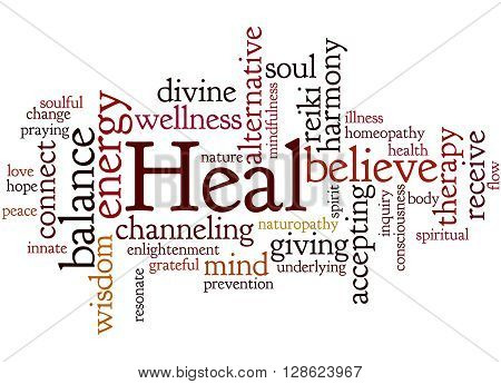 Heal, Word Cloud Concept 5