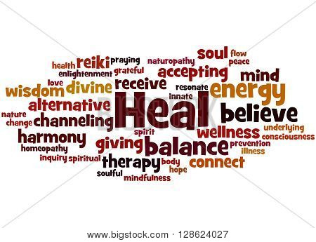 Heal, Word Cloud Concept 8