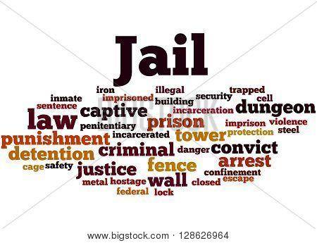 Jail, Word Cloud Concept 3