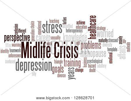 Midlife Crisis, Word Cloud Concept 9