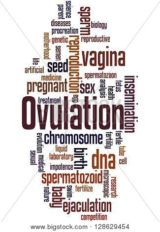 Ovulation, Word Cloud Concept 7