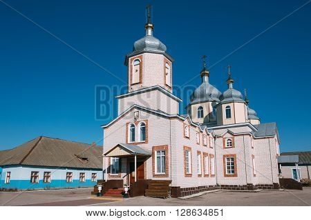 St. Nicholas Cathedral church in Dobrush, Belarus.