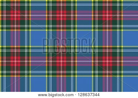 macbeth tartan kilt fabric textile check pattern seamless .Vector illustration. EPS 10. No transparency. No gradients.