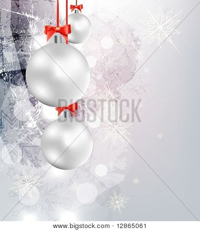 Elegant Christmas Background. Eps10.