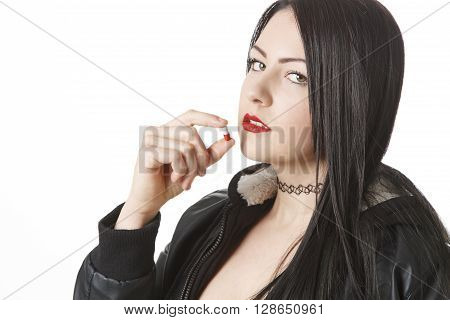 Drug Addicted Woman